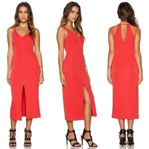 Bailey 44 Biana Dress NWT L 6% stretch midi dress